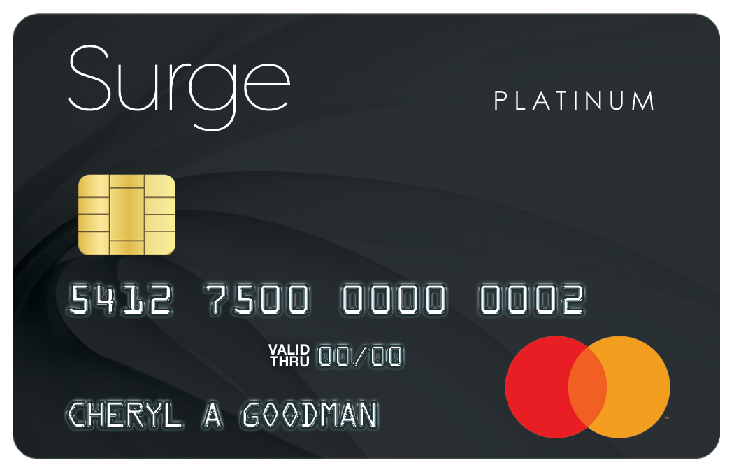 surge secured mastercard